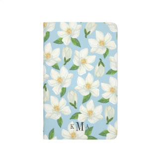 Magnolia Monogram Pocket Journal