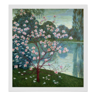 Magnolia (oil on canvas) poster