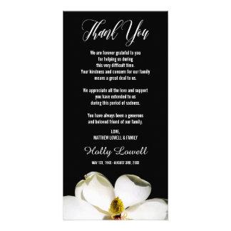 Magnolia Petals | Sympathy Thank You Picture Card