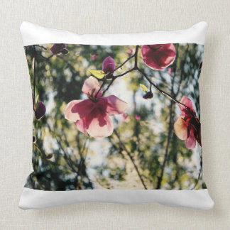 Magnolia - Pretty Flowers - Pink Flowers - Cushion