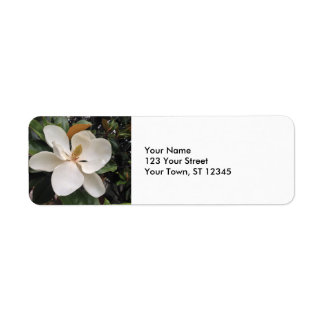Magnolia Return Address Label