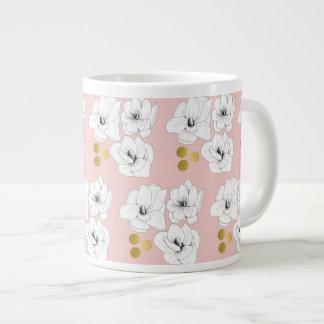 Magnolia Romance Large Coffee Mug