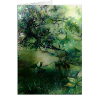 Magnolia Shade note card