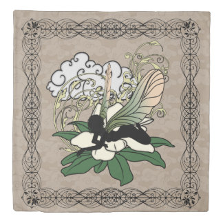 Magnolia Shadow Fairy Duvet Cover