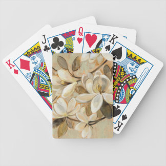 Magnolia Simplicity Cream Bicycle Playing Cards