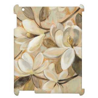 Magnolia Simplicity Cream iPad Cases