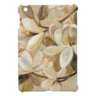 Magnolia Simplicity Cream iPad Mini Cases
