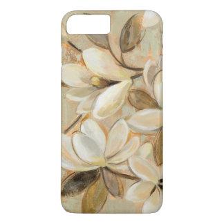Magnolia Simplicity Cream iPhone 7 Plus Case