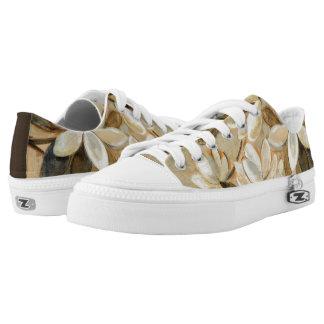 Magnolia Simplicity Cream Low-Top Sneakers