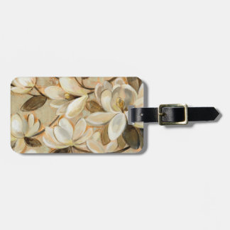 Magnolia Simplicity Cream Luggage Tag