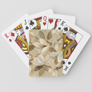Magnolia Simplicity Cream Playing Cards