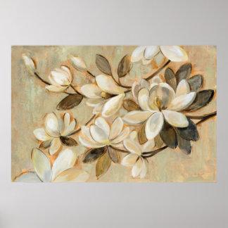 Magnolia Simplicity Cream Poster