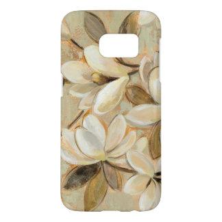 Magnolia Simplicity Cream Samsung Galaxy S7 Case