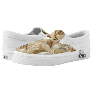 Magnolia Simplicity Cream Slip-On Sneakers