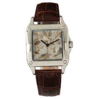 Magnolia Simplicity Cream Wristwatches
