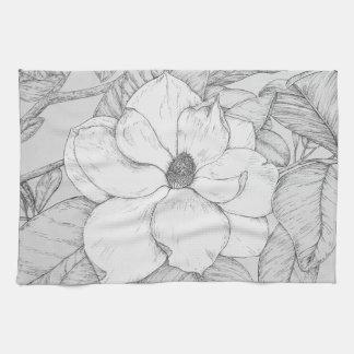 Magnolia towel