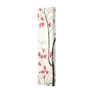 Magnolia Tree by Kobayashi Kokei, Japanese Art Stretched Canvas Print