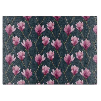 Magnolia Watercolor Floral Pattern Boards