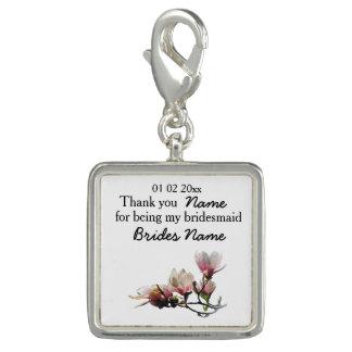 Magnolia Wedding Souvenirs Keepsakes Giveaways Charms