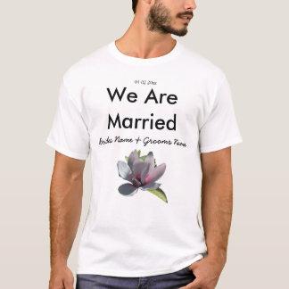 Magnolia Wedding Souvenirs Keepsakes Giveaways T-Shirt