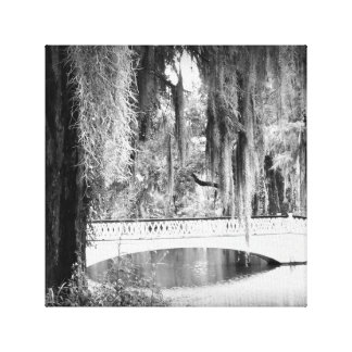 Magnolia's Bridge Canvas Print