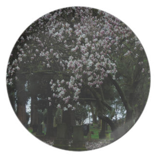 Magnolias Forever Party Plate