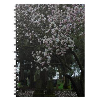 Magnolias Forever Spiral Notebook