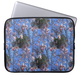 Magnolias in the sky... laptop sleeve