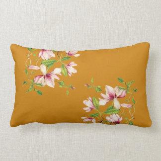 Magnolias Lumbar Pillow