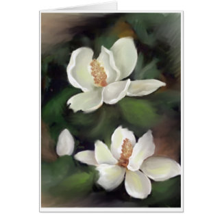 MAGNOLIAS OF THE SOUTH CARD