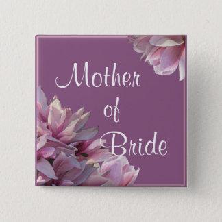 Magnolias Wedding Party Button