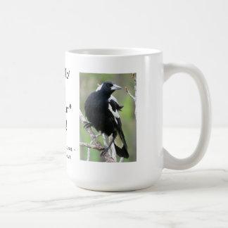Magpie Archosaur Mug