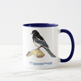 Magpie, Bird, Nature, Wildlife, Garden Mug