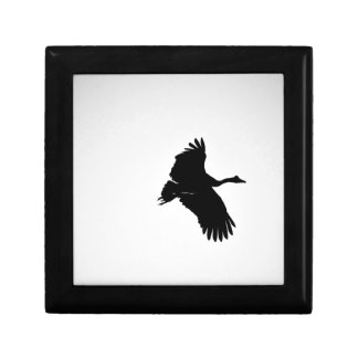 MAGPIE GEESE IN FLIGHT SILHOUETTE AUSTRALIA GIFT BOX