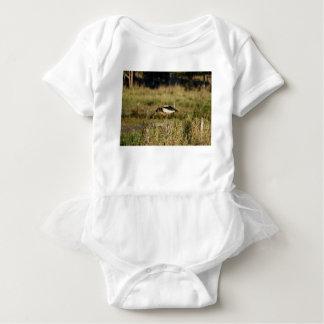MAGPIE GEESE RURAL QUEENSLAND AUSTRALIA BABY BODYSUIT