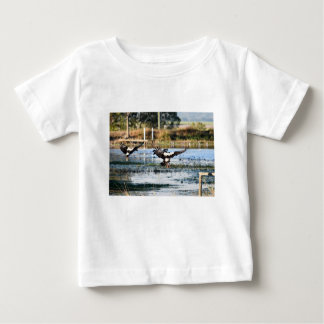 MAGPIE GEESE RURAL QUEENSLAND AUSTRALIA BABY T-Shirt