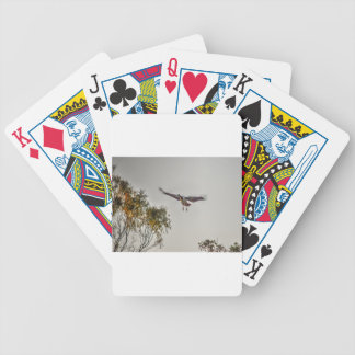 MAGPIE GOOSE AUSTRALIA ART EFFECTS BICYCLE PLAYING CARDS