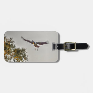 MAGPIE GOOSE AUSTRALIA ART EFFECTS LUGGAGE TAG