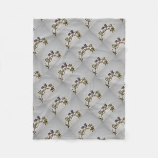 MAGPIE GOOSE IN FLIGHT AUSTRALIA ART EFFECTS FLEECE BLANKET