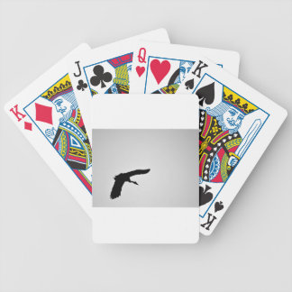 MAGPIE GOOSE IN FLIGHT SILHOUETTE AUSTRALIA BICYCLE PLAYING CARDS