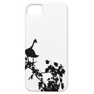 MAGPIE GOOSE IN TREE SILHOUETTE AUSTRALIA iPhone 5 COVER
