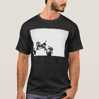 MAGPIE GOOSE IN TREE SILHOUETTE AUSTRALIA T-Shirt