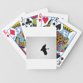 MAGPIE GOOSE QUEENSLAND AUSTRALIA BICYCLE PLAYING CARDS