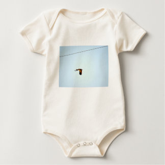 MAGPIE GOOSE RURAL QUEENSLAND AUSTRALIA BABY BODYSUIT