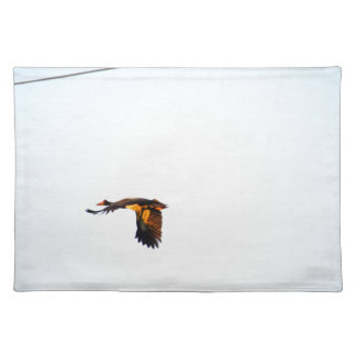 MAGPIE GOOSE RURAL QUEENSLAND AUSTRALIA PLACEMAT