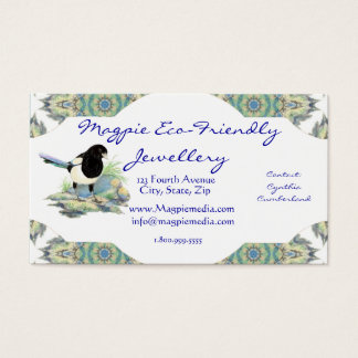 Magpie  Jewellery Business Card