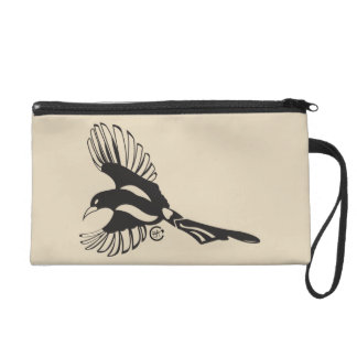 Magpie Message Wristlet