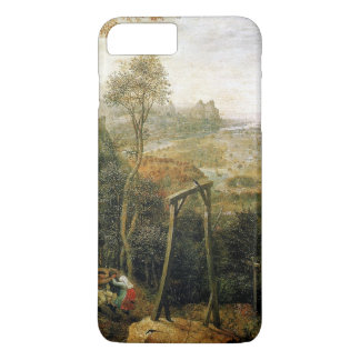 Magpie on the Gallows by Pieter Bruegel iPhone 7 Plus Case