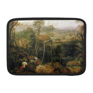 Magpie on the Gallows by Pieter Bruegel MacBook Air Sleeves