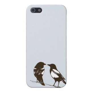 Magpie phone case - One for sorrow, Two for joy iPhone 5 Case